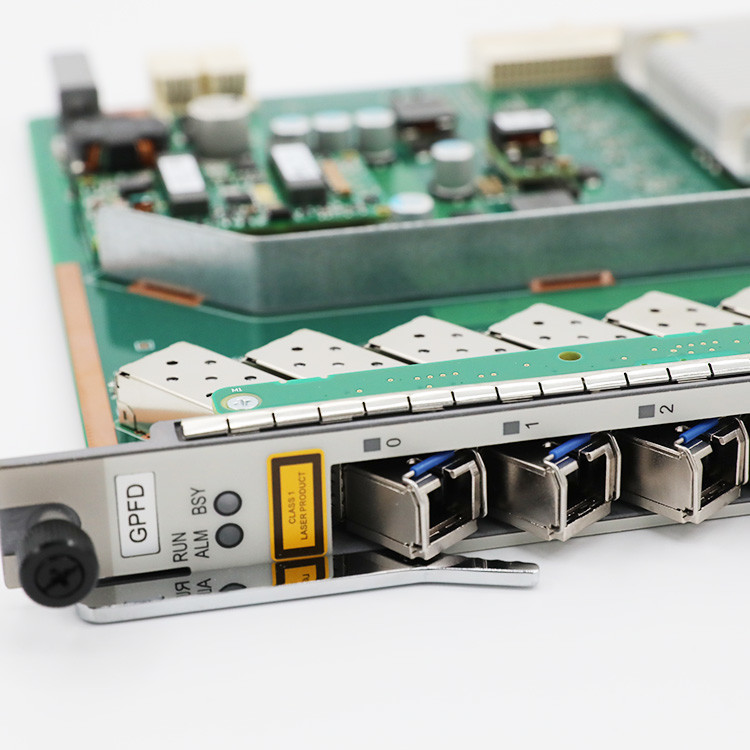 16PORT GPON OLT Interface Board H802GPFD H805GPFD  for SmartAX MA5600T, MA5608T