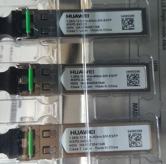 Optical modules SFP GPON Optical Transceiver 1.25G-1310NM-40KM-SM-ESFP