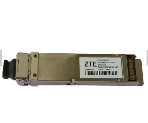 SM-10KM-1310-100G-C TRA5E20FNF-LF310 ZTE CFP4 100G Optical Transceiver