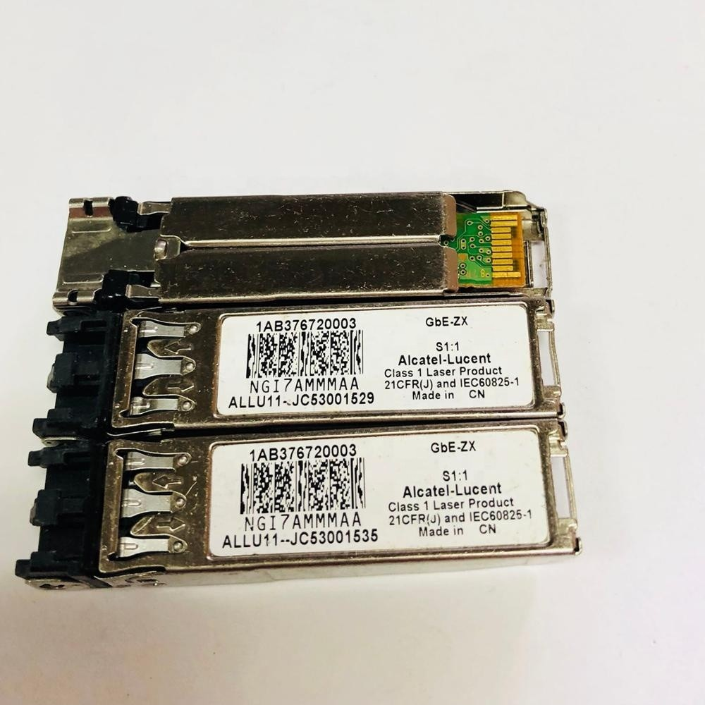 Original For Alcatel Lucent optical module SFP 1AB376720003 GbE-ZX