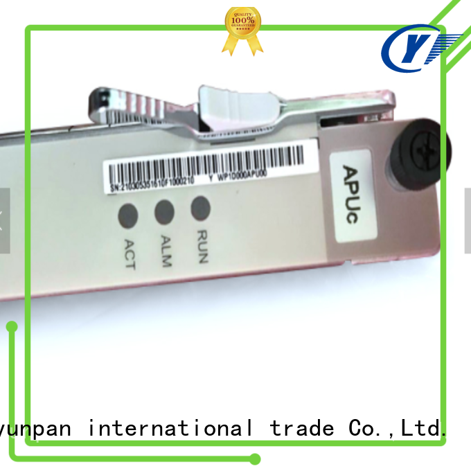 YUNPAN interface board definition size for network