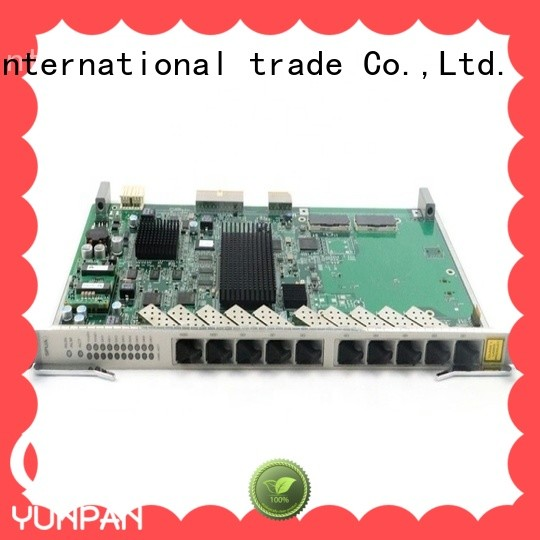 YUNPAN sfp board size for network