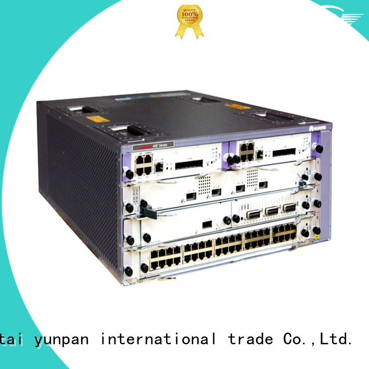 YUNPAN olt switch working for network