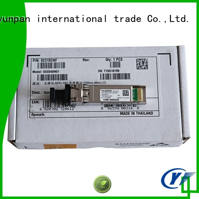 YUNPAN affordable sfp types supply for network