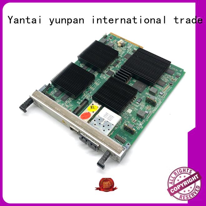 YUNPAN interface board configuration for network