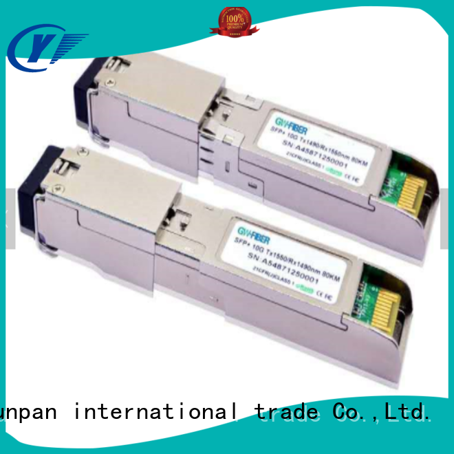YUNPAN optical fiber module images for communication
